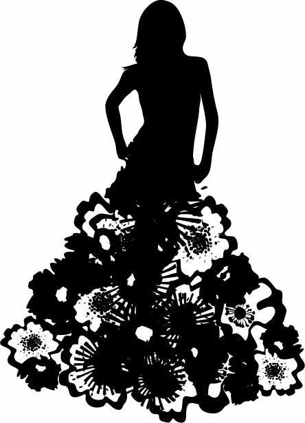 model-silhouette-dress-couture