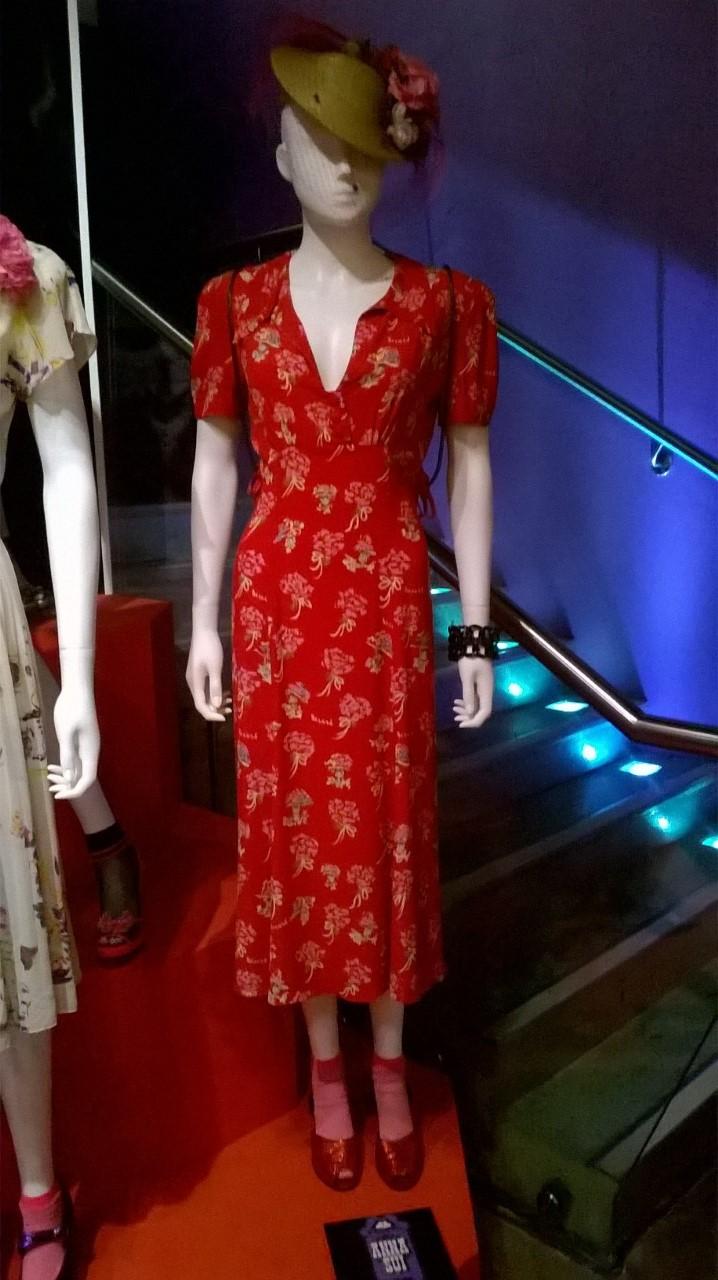 Ann Sui Red Dress