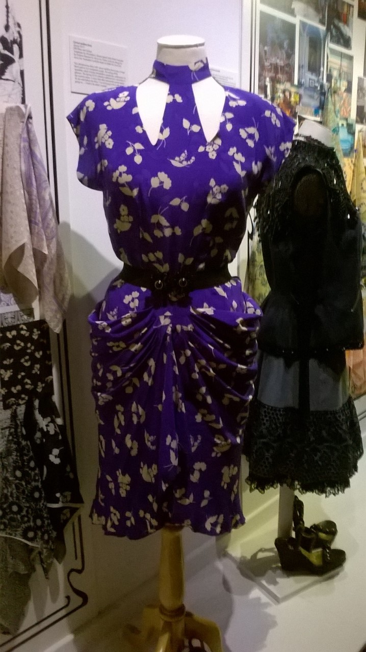 Anna Sui Purple Dress