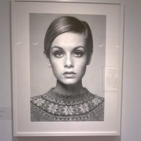 Twiggy by Barry Lategan, 1966 at My Generation, 2018