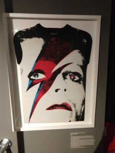 David Bowie T-Shirt at T-Shirt Cult Culture Subversion Exhibition, 2018