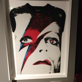 David Bowie T-Shirt at T-Shirt Cult Culture Subversion Exhibition, 2018